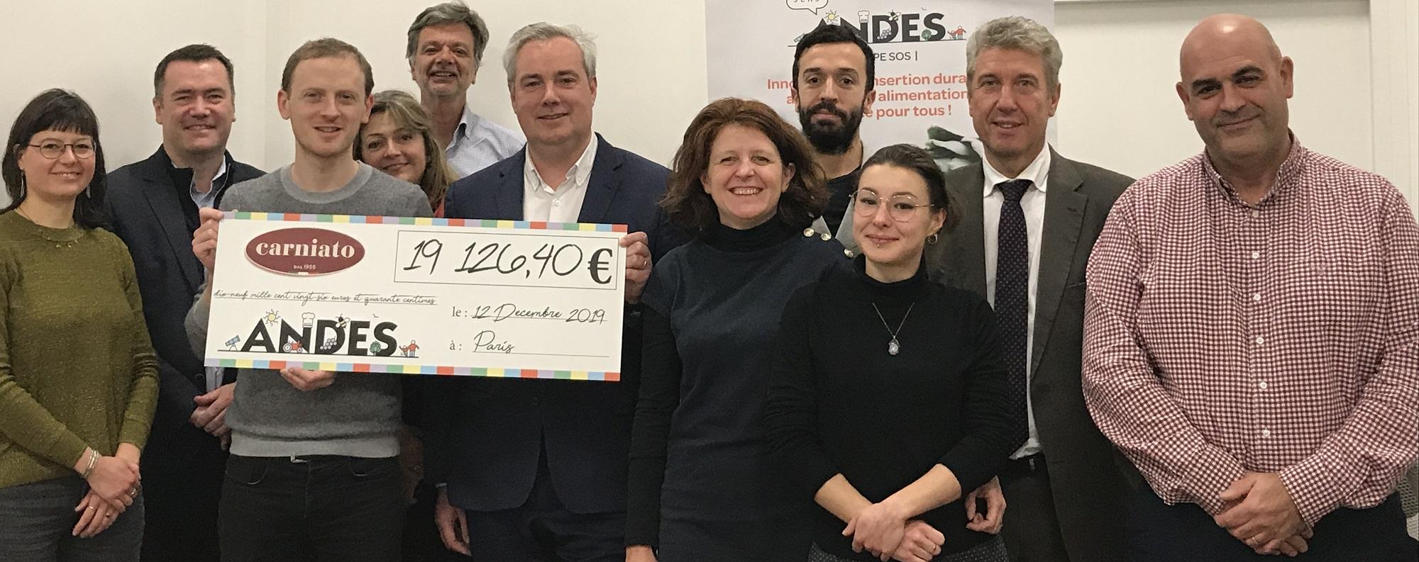 Les projets des épiceries prennent vie avec le partenariat ANDES-Carniato