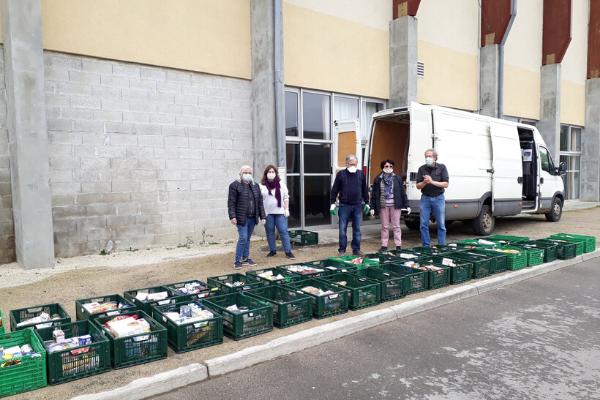 Initiative solidaire d'une épicerie solidaire ANDES