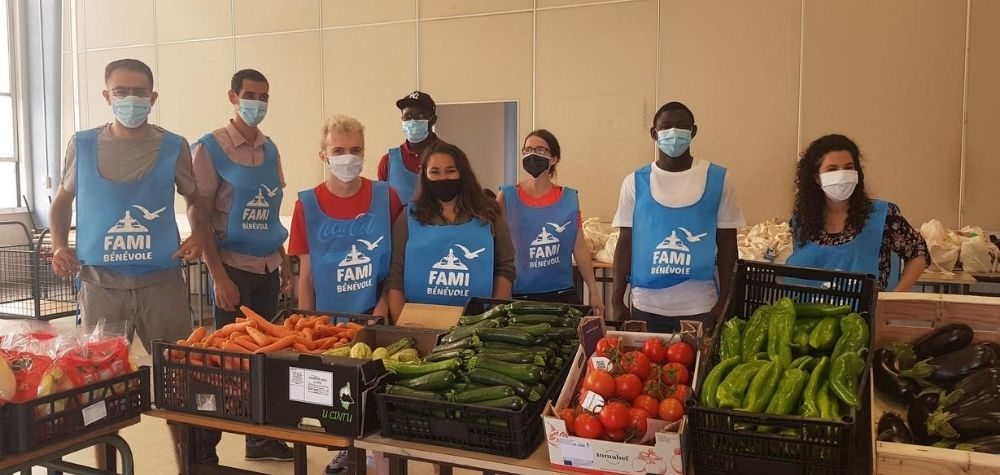 Forte mobilisation des bénévoles de l'aide alimentaire !
