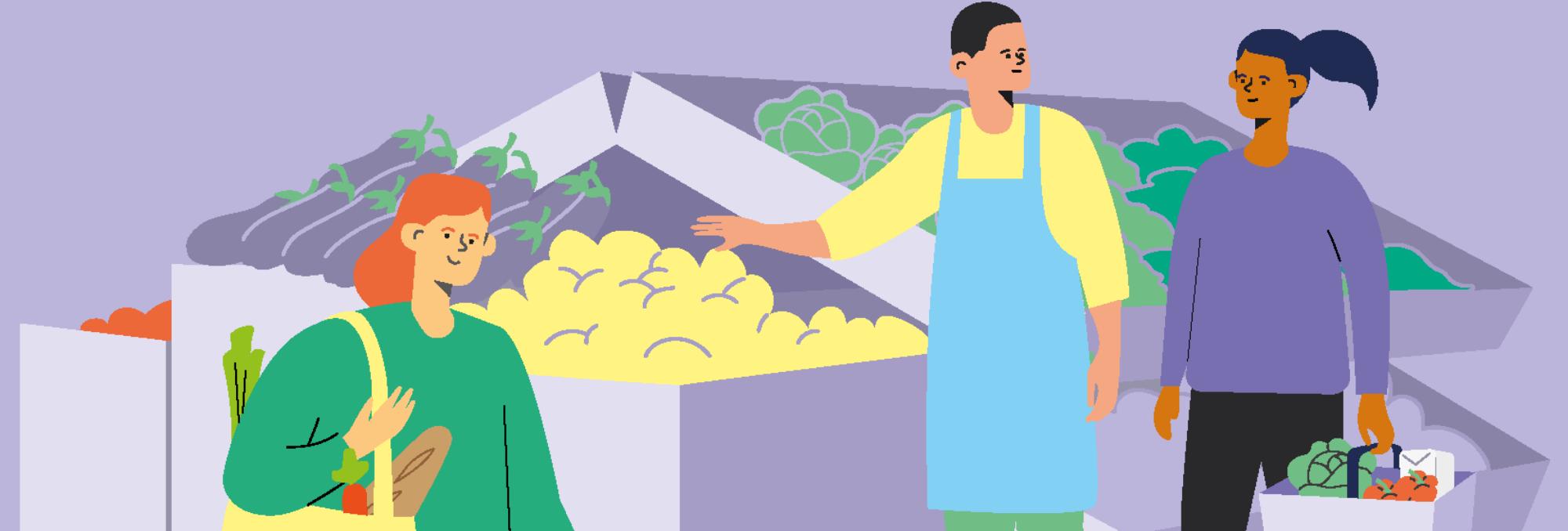 ANDES publie la première étude  sur l'impact social des épiceries solidaires